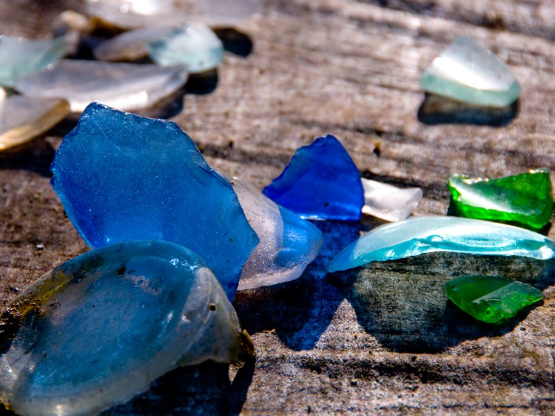 How Does Sea Glass End Up On The Beach