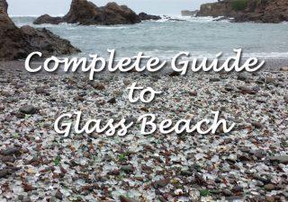 Sea glass on Glass Beach, Fort Bragg.