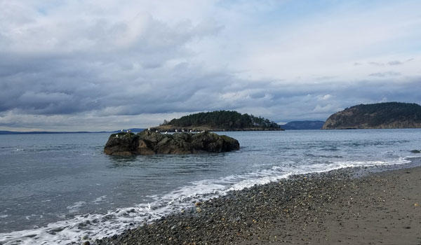 Deception Pass State Beach, Washington State
