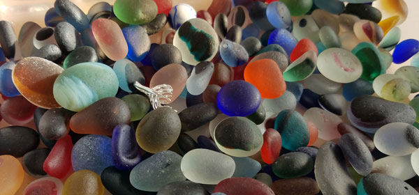 Seaham Waves sea glass