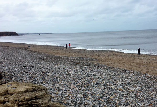 Seaham Hall Beach.