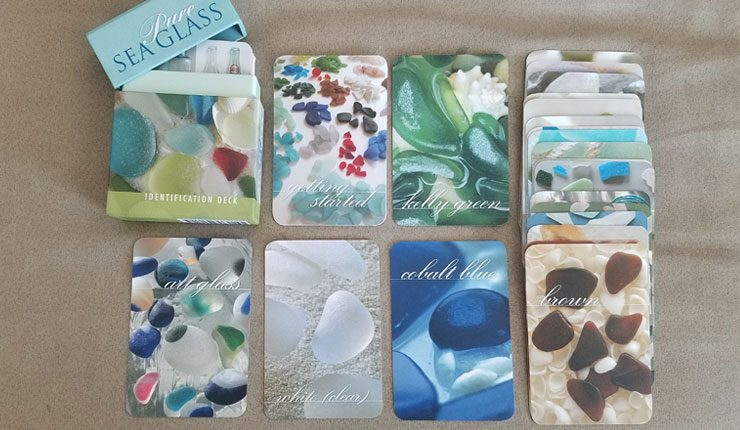 Pure Sea Glass Identification Cards
