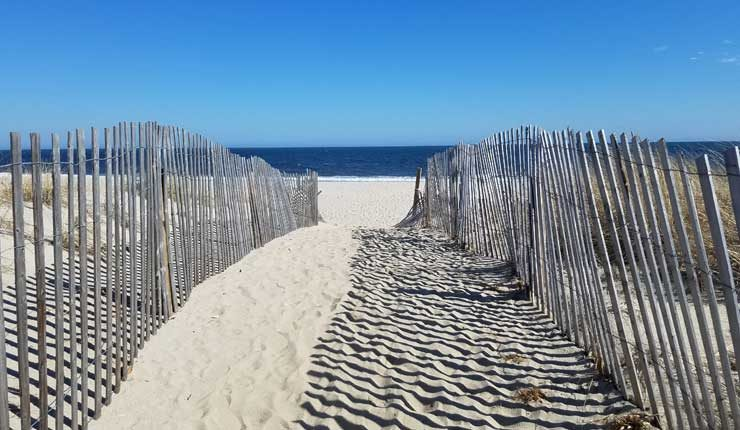 Bay Head Beach New Jersey Entrance